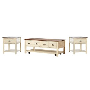 Find for Chesapeake 3 Piece Coffee Table Set By Beachcrest Home