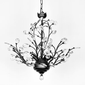 Alijah 4-Light Crystal Chandelier