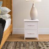 Voelker 2 Drawer Nightstand by House of Hampton®