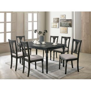 Amalfi 7 Piece Dining Set by Andrew Home Studio Best Choices