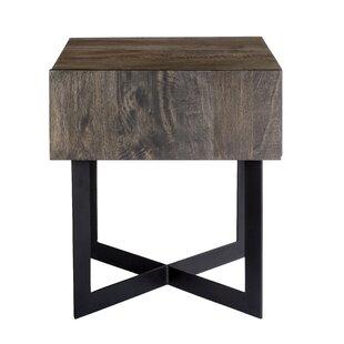 Union Rustic Brookside End Table