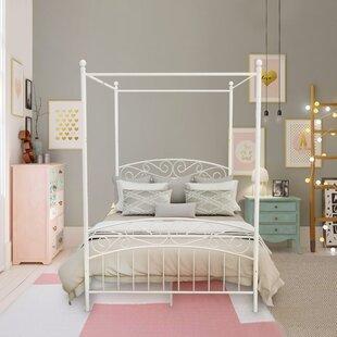 Dionysios Metal Canopy Bed