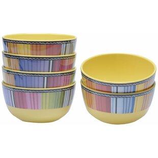 Sands Melamine Dessert Bowl (Set of 6)