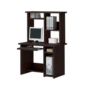 Koester Computer Desk with Hutch