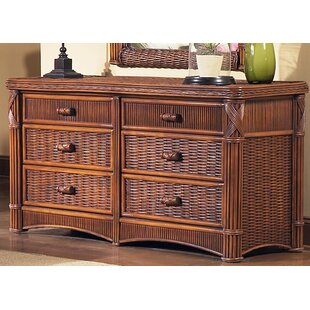 Bay Isle Home Florentine 6 Drawer Double Dresser