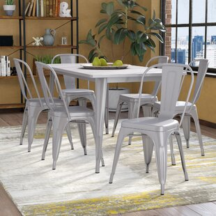 Kingwai 7 Piece Dining Set 17 Stories