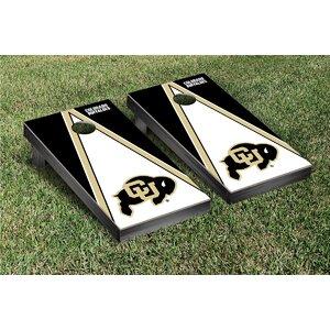 NCAA Triangle Version Cornhole Game Set