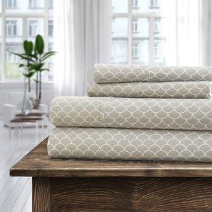 Villers Premium Printed Ultra Soft Bed Sheet Set