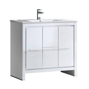Reviews Allier 35 Single Bathroom Vanity Set By Fresca
