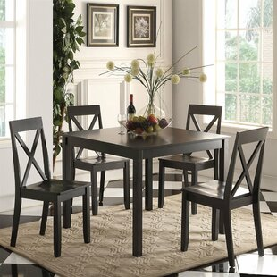 Jenny 5 Piece Dining Set by A&J Homes Studio