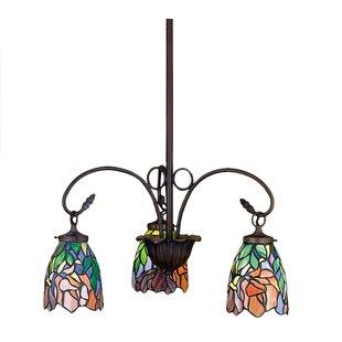 Meyda Tiffany Art Glass Iris 3..