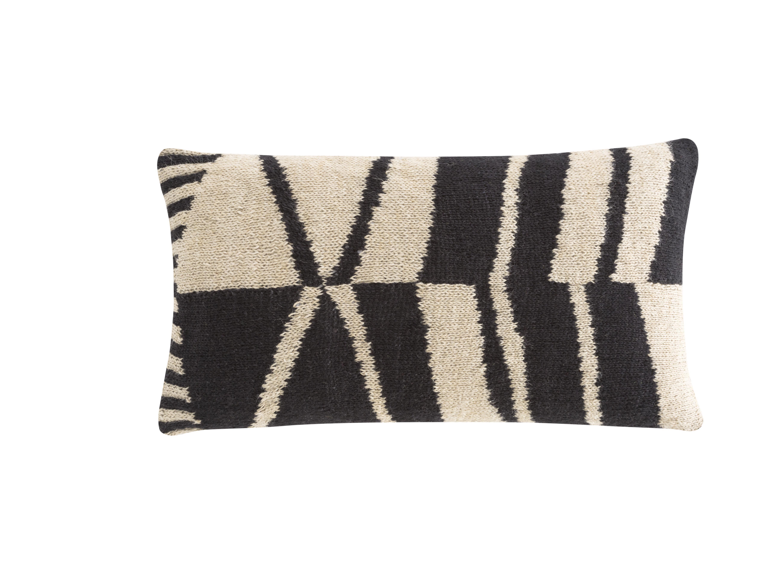 Gan Rugs Space Rustic Chic Lumbar Pillow