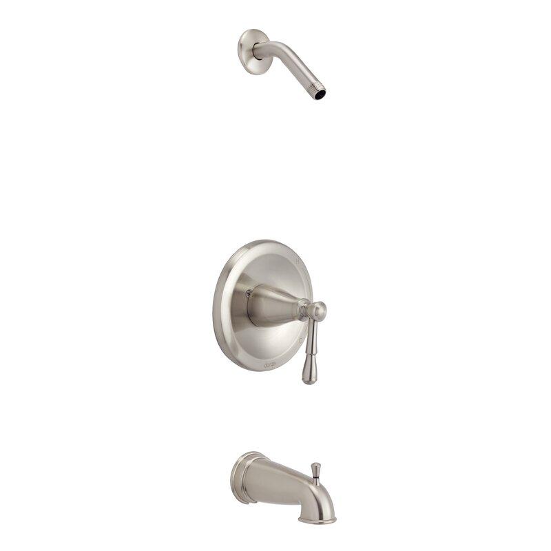 Danze Eastham Pressure Balanced Tub And Shower Faucet Wayfair