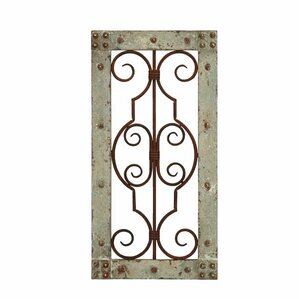 Wood Metal Wall Decor distressed wall accents you'll love | wayfair