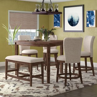 Buckminster 6 Piece Counter Height Dining Set
