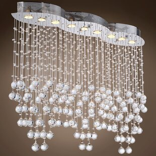 Drops of Rain 9-Light Cluster Pendant by WeGotLites