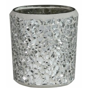 Mosaic Glass Tea Light Holder