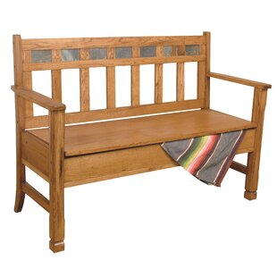 Hearns Wood Storage Bench