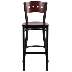 Great Price Barker 29.75 Bar Stool by Red Barrel Studio Reviews (2019) & Buyer's Guide
