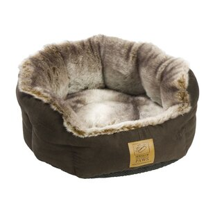 Bakewell Pet Bed in Brown and Grey by Archie & Oscar