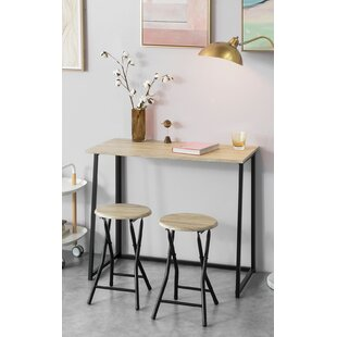 Bologna Folding Dining Set With 2 Chairs By 17 Stories