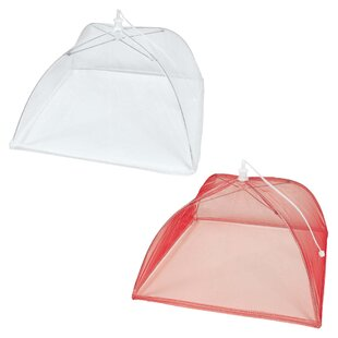 "12"" Summer Picnic Food Cover (Set of 3)"
