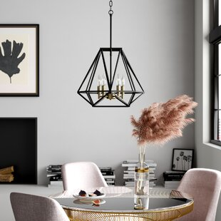 Mazon 5-Light Geometric Chande..