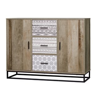 Oak Park 3 Drawer Combi Chest By Bloomsbury Market