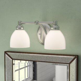 Tiedemann 2-Light Vanity Light by Three Posts