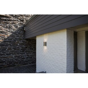 Boncelles Path 2-Light LED Outdoor Wall Light With Motion Sensor By Sol 72 Outdoor