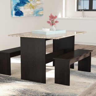 Ryker 3 Piece Dining Set by Andover Mills