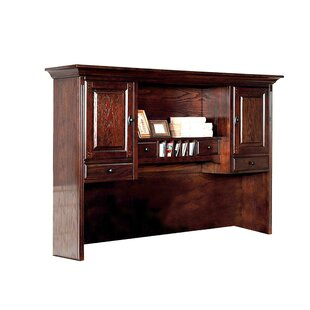 Debbi Computer Desk Hutch by DarHome Co Great price