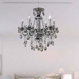 LightUpMyHome 6-Light Candle Style Chandelier