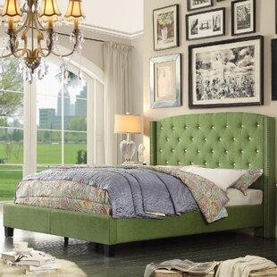 Martins Upholstered Panel Bed