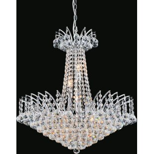 CWI Lighting Posh 11-Light Empire Chandelier