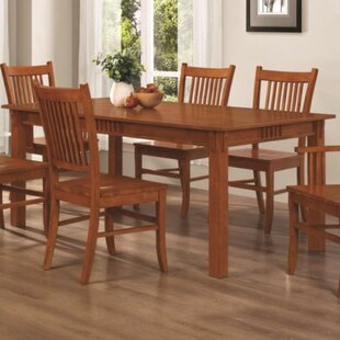 Venable Mission Style Solid Wood Dining Table