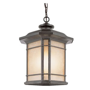 Corner Windows 3-Light Outdoor Hanging Lantern