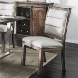 Defiance Upholstered Dining Chair (Set of 2) by Gracie Oaks