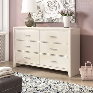Enya 6 Drawer Double Dresser