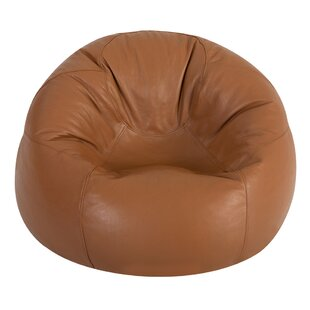 Cogbill Leather Bean Bag Chair By Ebern Designs