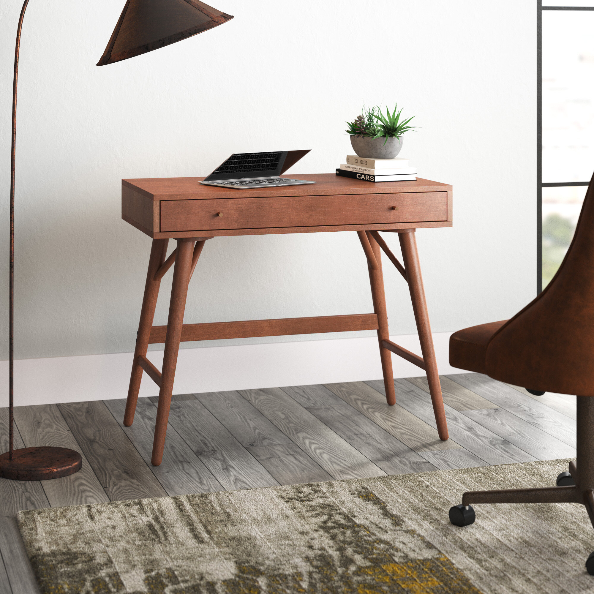 George Oliver Lundquist Solid Wood Desk Reviews