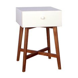 Julia End Table With Storage by Porthos Home
