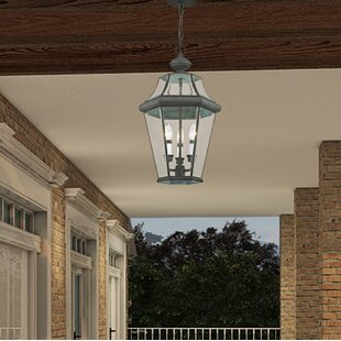 Find the perfect Creason 3-Light Outdoor Hanging Lantern By Darby Home Co