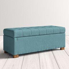 Brilliant Modern Mid Century Ottomans Poufs Allmodern Machost Co Dining Chair Design Ideas Machostcouk
