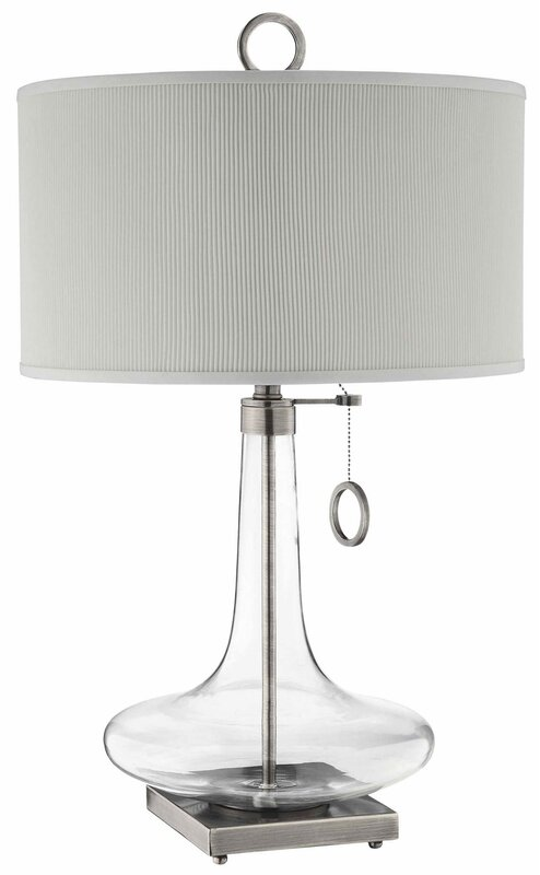 Campbell Glass Table Lamp