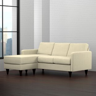 Andover Mills Karbach Reversible Sectional with Ottoman