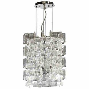 Eligah 1-Light Crystal Pendant by Everly Quinn