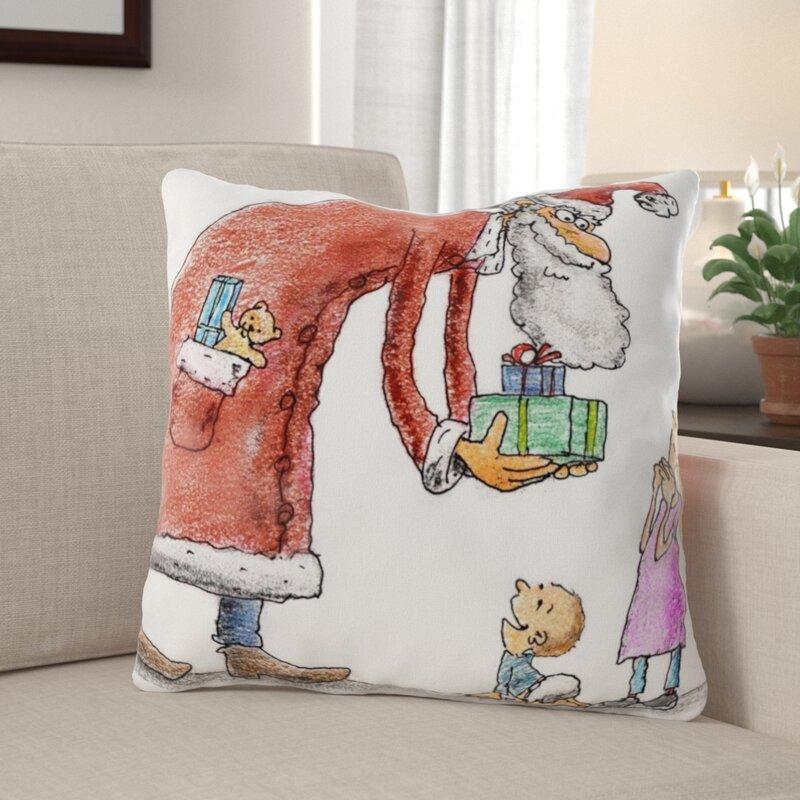 The Holiday Aisle Makai Indoor Outdoor Canvas Throw Pillow Wayfair