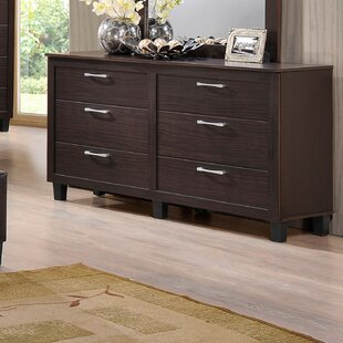 Amelie 6 Drawers Double Dresser
