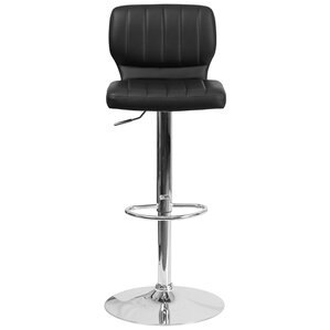 Aristocles Adjustable Height Swivel Bar Stool